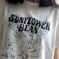 Tarot Card Shirt (White) | Sunflower Bean