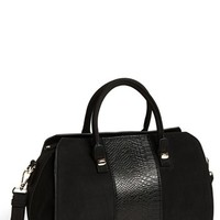 Emperia Snake Embossed Faux Leather Satchel (Juniors) (Online Only) | Nordstrom