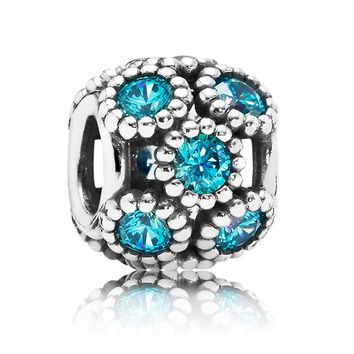 Pandora Teal Studded Lights Charm