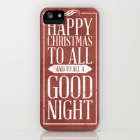 Happy Christmas iPhone & iPod Case by Rollerpimp