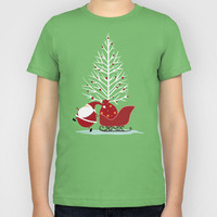 Happy Santa Kids T-Shirt by MadTee