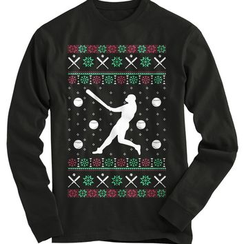 Soft Ball Ugly Christmas Sweater