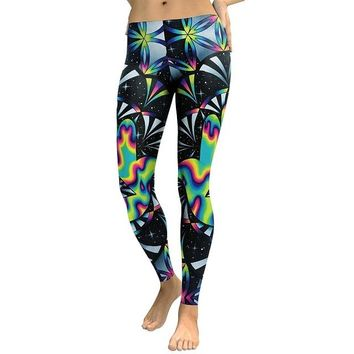 Galaxy Space Colorful Women's Legging