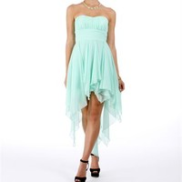 Tierra-Mint Homecoming Dress