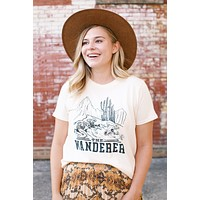 The Wanderer Graphic Tee, Natural