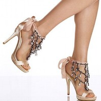Chandelier Stiletto Sandal