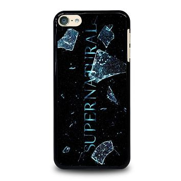 SUPERNATURAL CRACKED GLASS iPod 4 5 6 Case