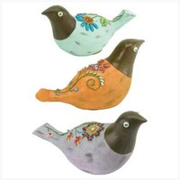 FOLK ART BIRD FAMILY - Other