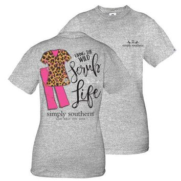 Simply Southern Living The Wild Scrub Life Tee