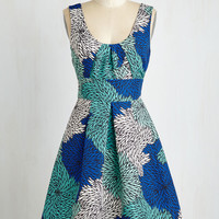 Mums the Whirled Dress