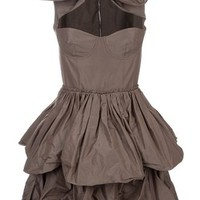 Carven Bow Detail Layered Dress - Start - farfetch.com