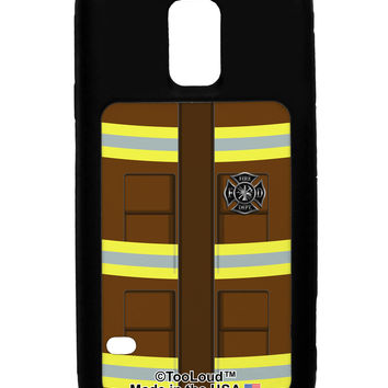 Firefighter Brown AOP Galaxy S5 Case All Over Print