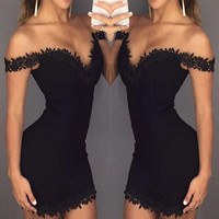 Sexy Bodycon Vestidos Party Dresses Lace UP Bandage Tracksuit for Women New Year Cocktail Deep V Neck Short Mini Dress Beauty