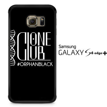Clone Club Logo Orphan Black A0540 Samsung Galaxy S6 Edge Plus Case