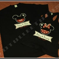 Always His and Forever Hers Disney Inspired Couples TShirts Truel Love Soul Mates Tshirts or Tank Tops