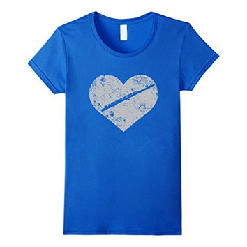 I Love Flute Heart Shirt Funny Marching Band Jazz Gift