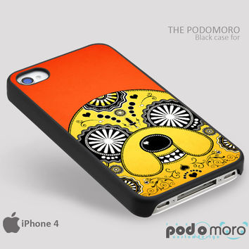 Adventure Time Sugar Skull for iPhone 4/4S, iPhone 5/5S, iPhone 5c, iPhone 6, iPhone 6 Plus, iPod 4, iPod 5, Samsung Galaxy S3, Galaxy S4, Galaxy S5, Galaxy S6, Samsung Galaxy Note 3, Galaxy Note 4, Phone Case