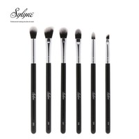 Sylyne eye brush set 6pcs professional makeup brushes complete eyebrow eyeshadow make up brushes kit tools.
