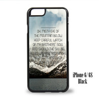 I See Fire Ed Sheeran Lyrics for iPhone 6, iPhone 6s, iPhone 6 Plus, iPhone 6s Plus Case