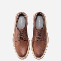 Willet Longwing Shoe in Cognac