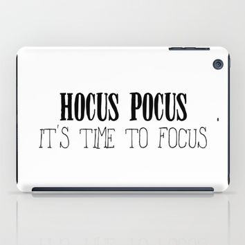 Hocus Pocus Time to Focus iPad Case by Designs by Zal
