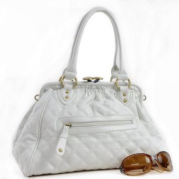 Melky Handbag-White by UpscaleKitten on Sense of Fashion
