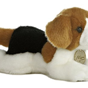 Aurora World Miyoni Beagle Plush, 8""