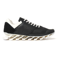 x Rick Owens Springblade Low Black/White