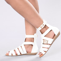 Chill Mood Sandal - White