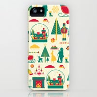 Christmas nutcracker yellow iPhone & iPod Case by wonman kim