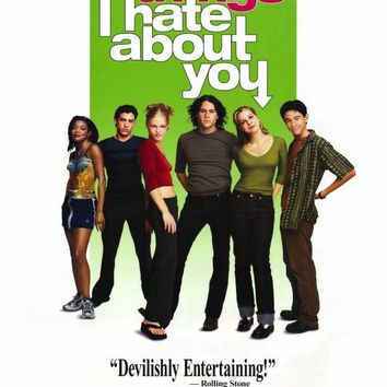 Ten Things I Hate About You 27x40 Movie Poster (1999)