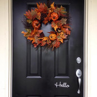 Hello Door Decal Sticker
