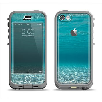 The Under The Sea V3 Scenery Apple iPhone 5c LifeProof Nuud Case Skin Set