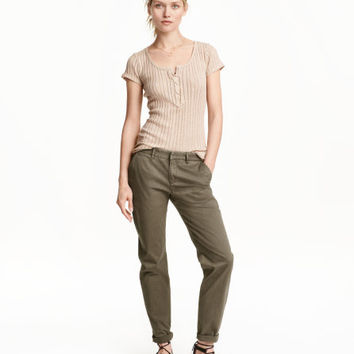 Chinos - from H&M