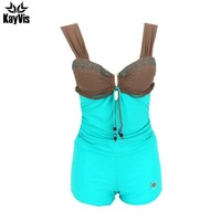 One Piece Swimsuit Sexy Backless Swimwear Female Solid Bathing Suit Vintage Beach Wear Swimwear Beachwear