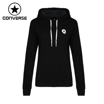 Original New Arrival 2018 Converse Women's Knitted Pullover Hoodies Sportswear