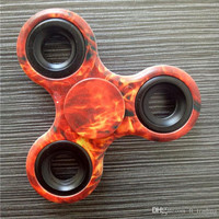 Camouflage Camo Hand Spinner Tri Finger Fidget Handspinner Fidget Spinner Toy Adults Focus Anti Stress With Retail Box