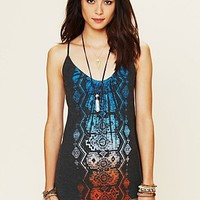 Free People Aztec Graphic Cami