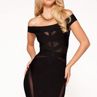 """""""DOLCE"""" LUXE BANDAGE DRESS"""