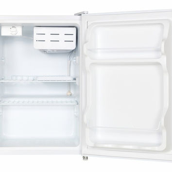 2.4 cu.ft. Compact Refrigerator with Energy Star - White