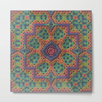 Intricate Pattern Metal Print by Lyle Hatch