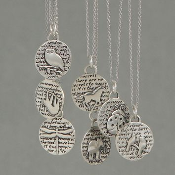 Spirit Animal Sterling Silver Necklace, USA