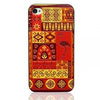 Maya Totem Embossment Case for iPhone4/4s