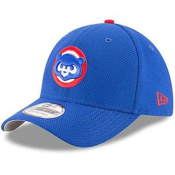 Chicago Cubs New Era 39THIRTY Diamond Era Stretch Fit Flex Cap Hat 3930