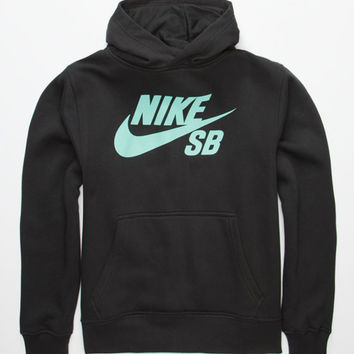 Nike Sb Boys Pullover Hoodie Black  In Sizes
