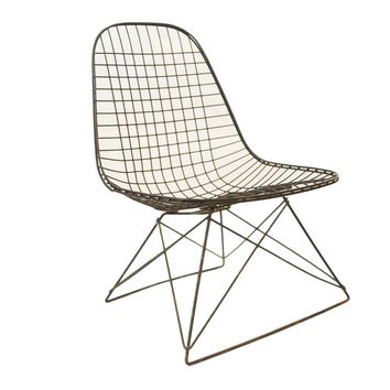 Eames Wire LKR Chair Rare Cat's Cradle Base