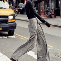 Free People Extreme Tailored Wide Leg Pants