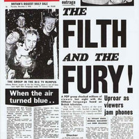 Sex Pistols The Filth and The Fury Poster 24x33