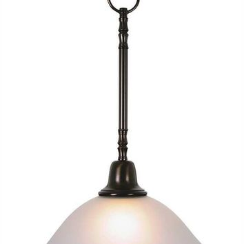 SONOMA™ PENDANT DOWN LIGHT CEILING FIXTURE, MAXIMUM ONE 100 WATT INCANDESCENT MEDIUM BASE BULB