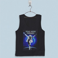 Men's Basic Tank Top - Michael Jackson Moon Wallker